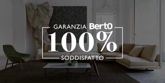 Garanzia 100% Soddisfatto - BertO