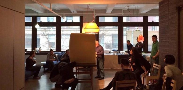 Il divano Sofa4Manhattan di BertO: dal crowdcrafting Fuorisalone Milano