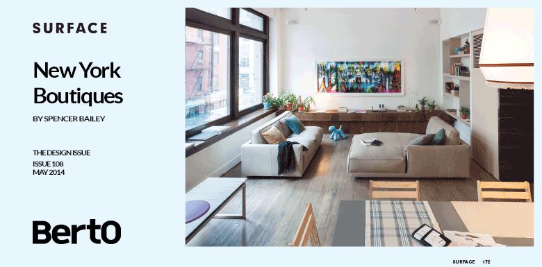 Design Apart di BertO fra le 4 boutiques più cool di New York