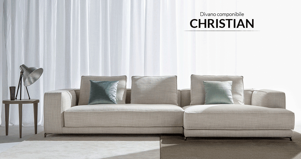 Nasce christian, il nuovo divano moderno berto   berto news