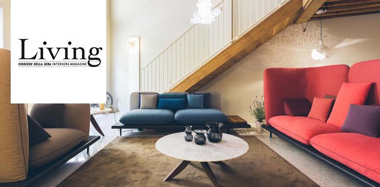 Il divano sofa4manhattan su living del corriere
