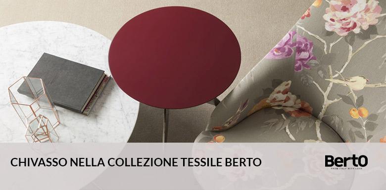 I tessuti Chivasso nella Collezione tessile BertO