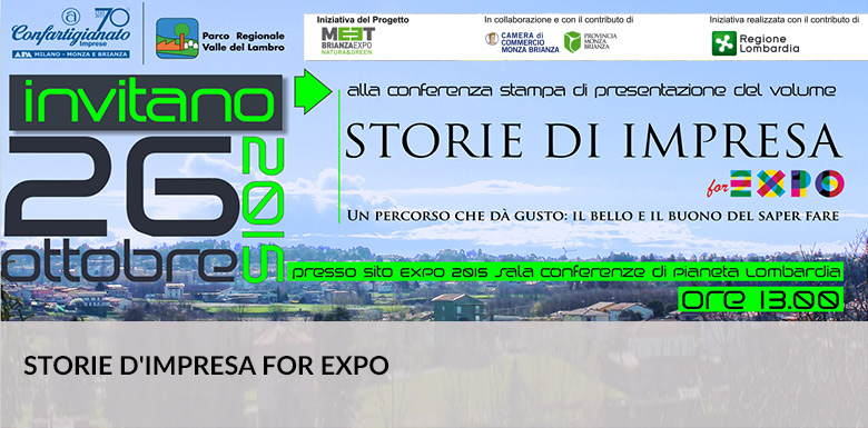 BertO a Storie d'impresa for Expo