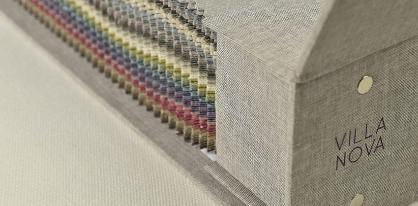 Tessuti arredamento Villa Nova nella collezione tessile BertO
