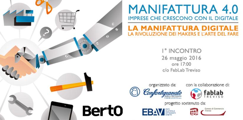 BertO al convegno Manifattura 4.0