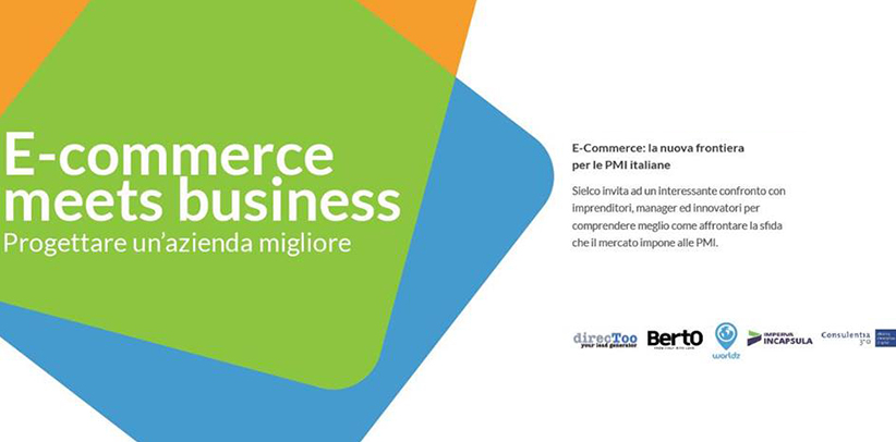Filippo Berto al convegno E-commerce meets business