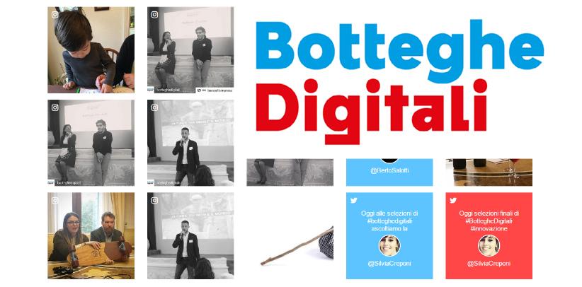 filippo berto incontra i finalisti di botteghe digitali