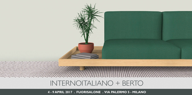 berto e internoitaliano presentano MEDA al Fuorisalone 2017