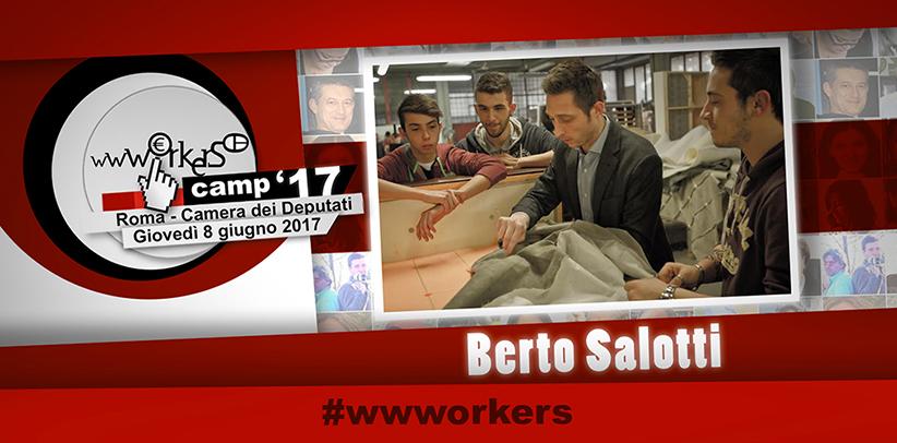 Filippo Berto camera dei deputati wwworkers camp 2017