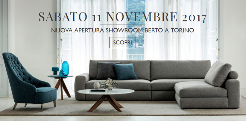 Showroom BertO in corso Verona 16 a Torino