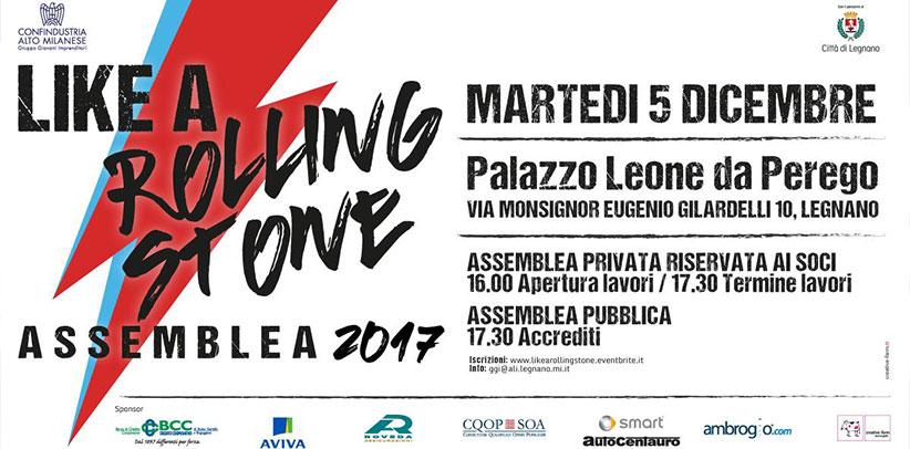 Filippo Berto like a rolling stone assemblea giovani confindustria