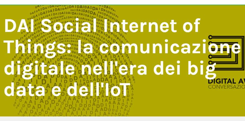 Filippo Berto partecipa al convegno sui Big data e Iot