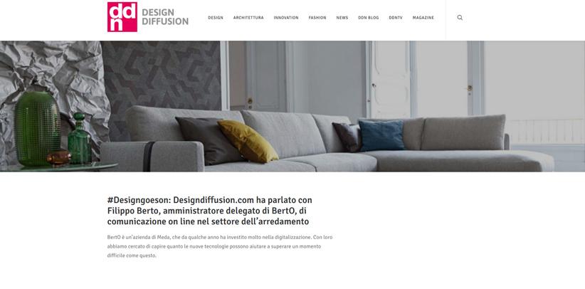 design e nuove tecnologie intervista filippo berto ddn