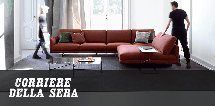 il ruolo del tuo nuovo divano berto sul corriere della sera