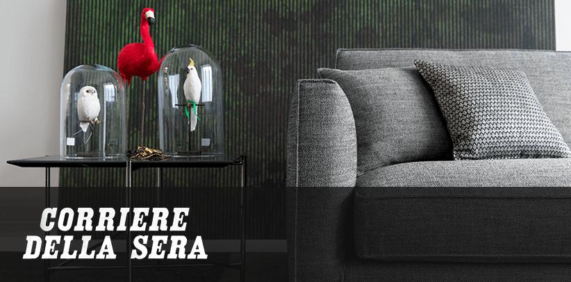 divani perfetti per tessuti perfetti: il design dei sogni made in meda di berto sul corriere della sera