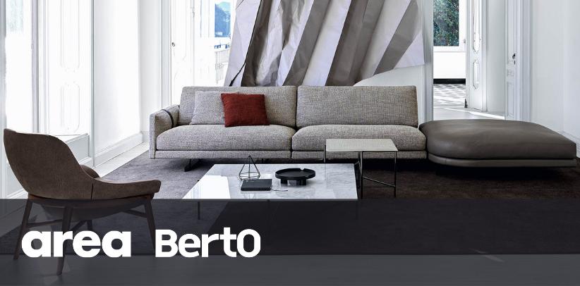 il divano dee dee di BertO sul sito Area Arch