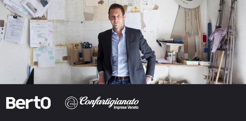 Filippo Berto racconta il caso studio berto agli imprenditori di Confartigianato Veneto