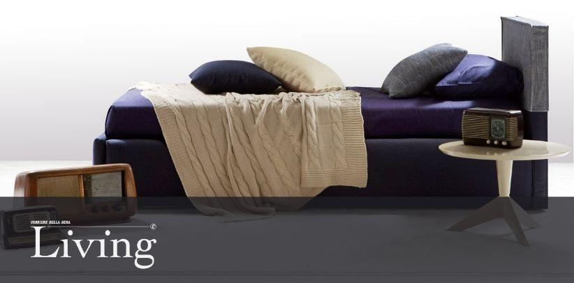 Il letto Summer B nella nuova gallery di Living - Corriere della Sera