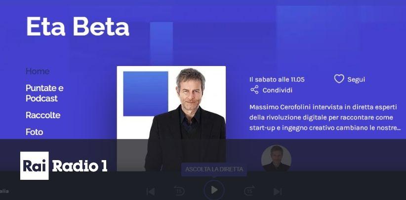Il caso BertO raccontato a Eta Beta - Radio1 Rai da Giampaolo Colletti e Massimo Cerofolini.