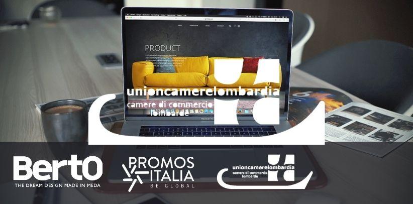 il caso studio berto al webinar export digitale e arredo-design di promos italia
