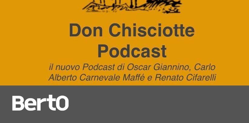 filippo berto ospite del podcast sancho panza di renato cifarelli