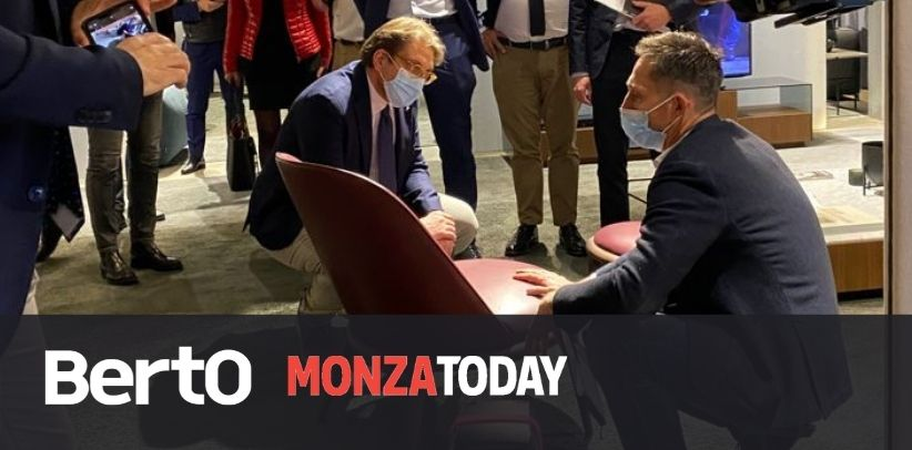 MonzaToday:  Showroom BertO tappa del tour dell'Assessore Guidesi