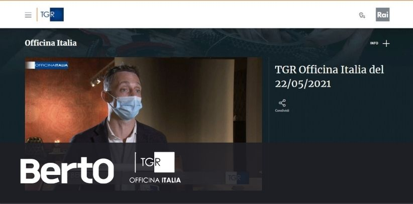 TGR Rai 3 TGR Officina Italia intervista Filippo Berto