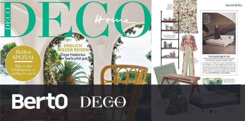 Libreria Ian BertO su HOME deco la prestigiosa rivista di design d'interni tedesca