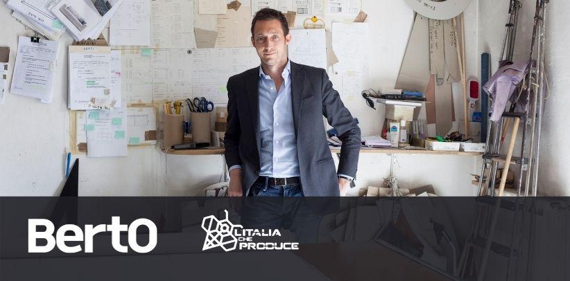 Filippo BertO ospite nella trasmissione Italia che produce