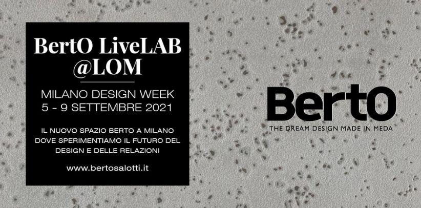 La Milano Design Week di BertO a  BertO Studio presso LOM
