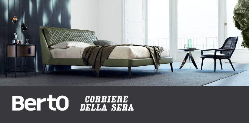 Corriere della Sera: il nuovo progetto per la camera da letto BertO