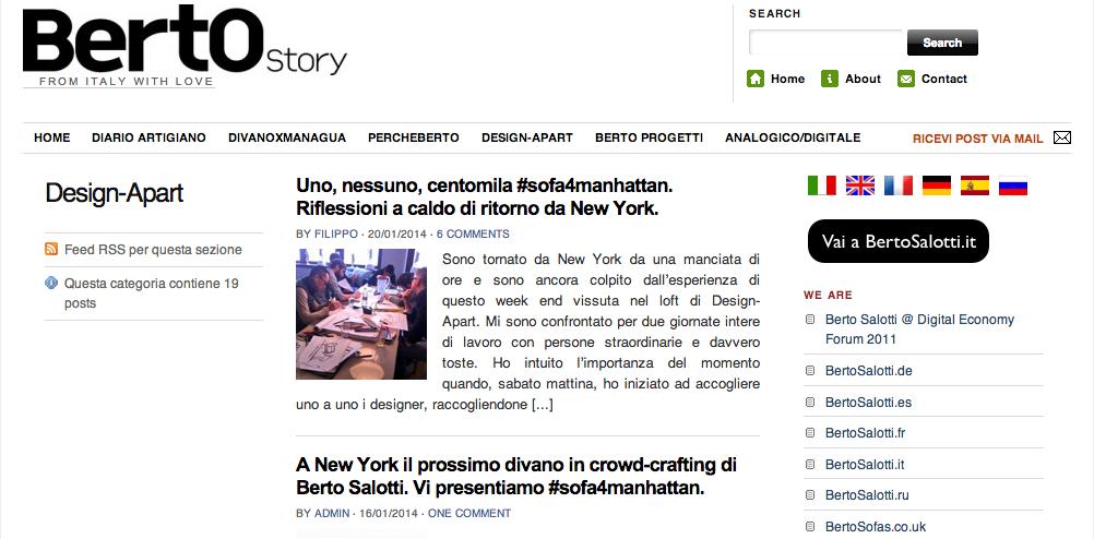 BertOStory Blog di BertO