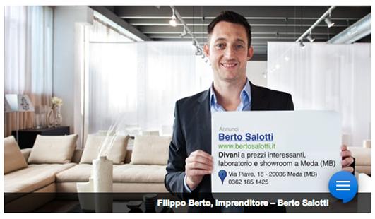 BertO testimonial di Google