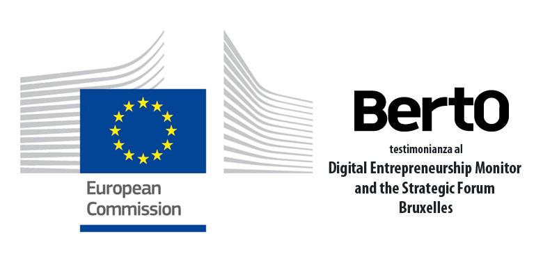 BertO allo Strategic Forum on Digital Entrepreneurship di Bruxelles