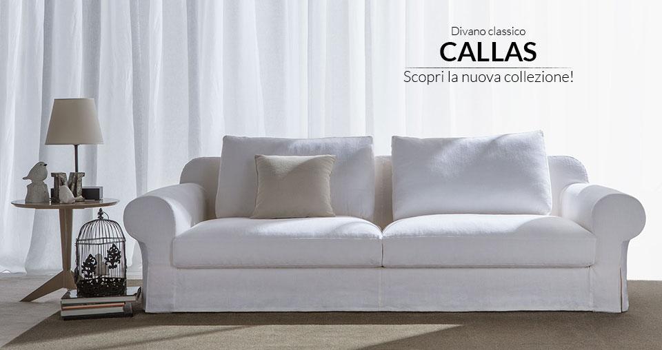 Divani e divani letto vendita divani su misura berto for Salotti bianchi