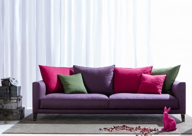 Divano moderno ciak berto salotti - Cuscini moderni divano ...