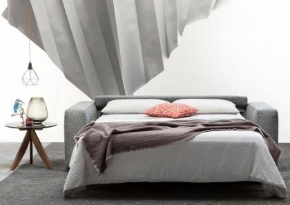 divano letto nemo 18 con materasso alto 18 cm - berto salotti - Divano Letto Matrimoniale Legno