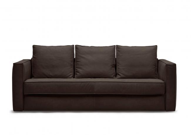 Promo divano letto in pelle robinson berto shop
