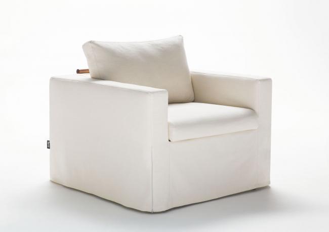 Poltrona letto online dafne in tessuto berto shop - Poltrona che diventa letto ...