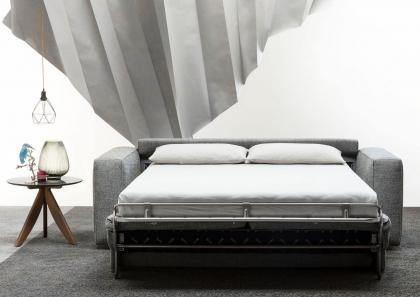 Divano letto nemo 18 con materasso alto 18 cm berto salotti - Letto matrimoniale alto ...