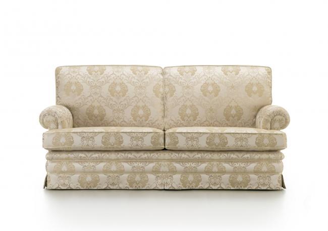 Outlet divano con tessuto damascato berto shop - Divano tessuto damascato ...