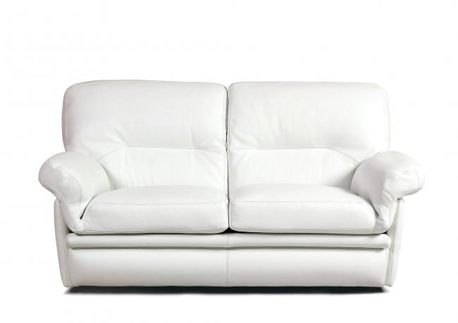 Outlet divano in pelle con schienale alto berto shop - Divano schienale alto ...