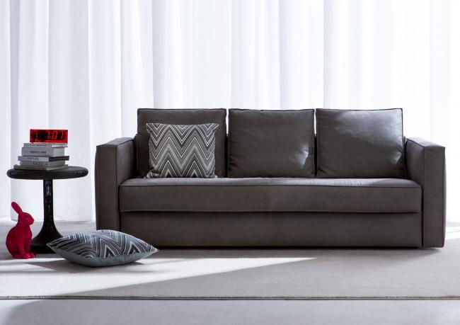 Divano letto in pelle sfoderabile berto shop - Consiglio divano ...