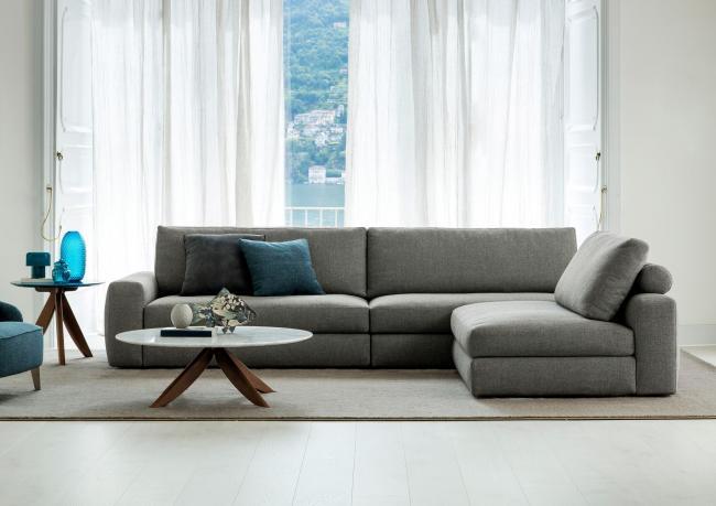 divano con penisola removibile joey berto salotti