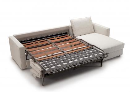 Divano letto con chaise longue su misura berto salotti - Materassi per divano letto su misura ...