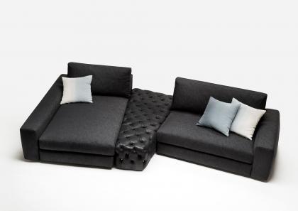Bertolive divano componibile in denim berto salotti for Divani componibili on line