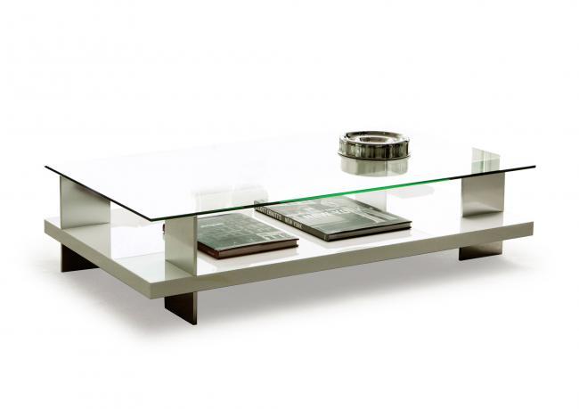 Outlet Tavolini Salotto.Outlet Tavolino Rettangolare Con Piano Vetro Berto Shop