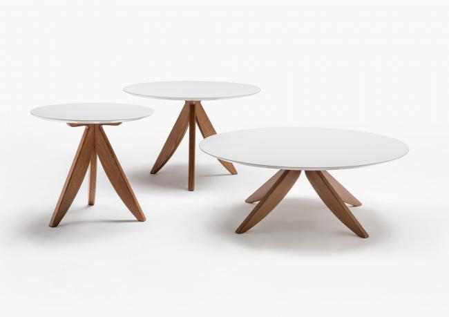 Tavolino su misura laccato berto salotti for Tavolini da salotto rotondi