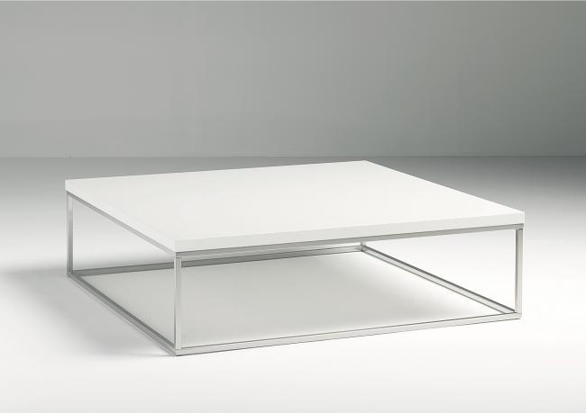 Outlet Tavolini Salotto.Outlet Tavolino Quadrato Laccato Bianco Berto Shop