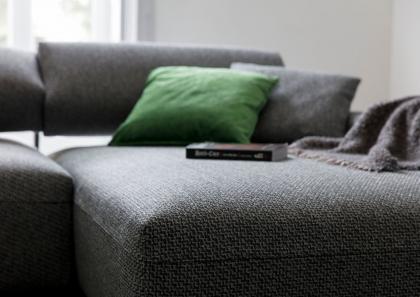Divano relax su misura berto salotti - Copridivano chaise longue su misura ...